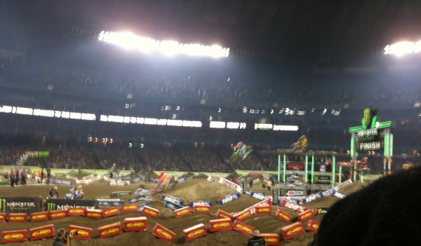 Flying high at Supercross 2013 Toronto