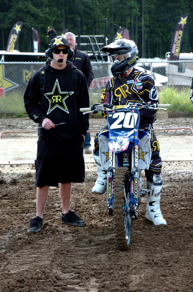 MXM Nation announces sponsorship of Team Rockstar Energy/Yamaha/OTSFF for the 2013 motocross season.