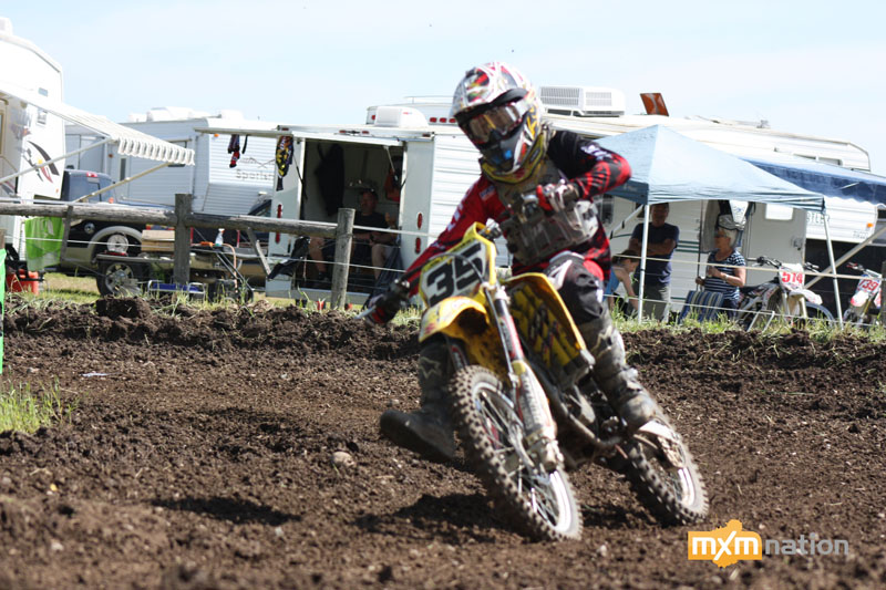 Another weekend of domination out of American Joey Crown #35. Joey was hucking the triple step-down too! Joey won every moto he entered. Look for him to be out front come August!