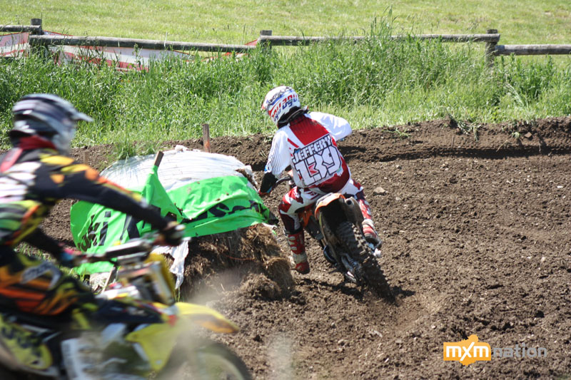 Lucas Jeffrey #139 looked a lot more comfortable this weekend. He was ripping his KTM SX250 in the Intermediate classes.