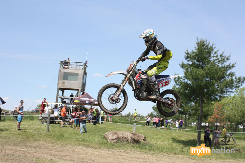 Drew Anger was out there putting down a few good motos. He was also taking pictures!